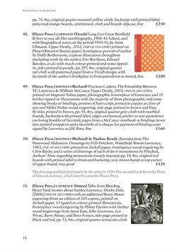 Miller offers in the Blackwell's catalogue in London