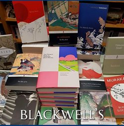 Books & stationery offers in the Blackwell's catalogue in Widnes