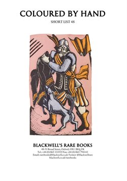 Blackwell's catalogue ( More than a month )