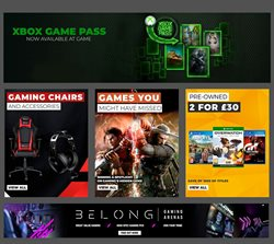 Xbox offers in the Game catalogue in London