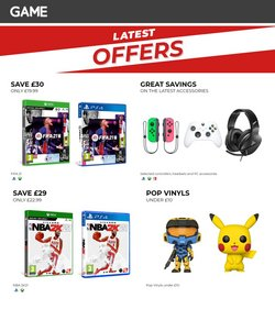 Electronics offers in the Game catalogue in Newport ( Expires tomorrow )