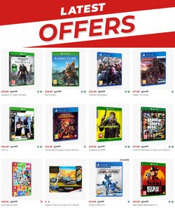 Electronics offers in the Game catalogue ( 8 days left)