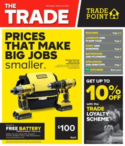 TradePoint offers in the Birmingham catalogue