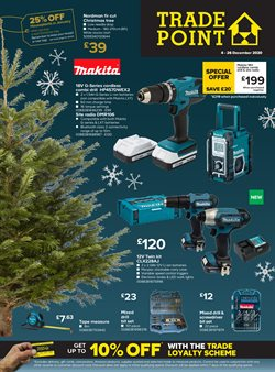 Garden & DIY offers in the TradePoint catalogue in Glasgow ( 2 days ago )