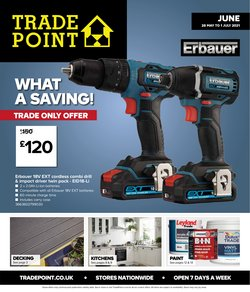 Garden & DIY offers in the TradePoint catalogue ( 13 days left)