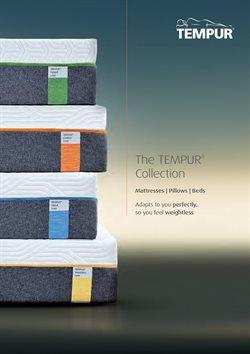 Tempur offers in the Leicester catalogue