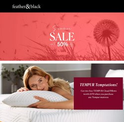 Feather & Black offers in the Feather & Black catalogue ( 6 days left)