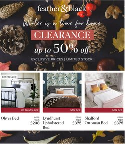 Home & Furniture offers in the Feather & Black catalogue ( 1 day ago)