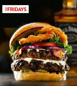 Restaurants offers in the T.G.I. Friday's catalogue in Aberdeen