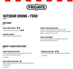 T.G.I. Friday's offers in the T.G.I. Friday's catalogue ( More than a month)