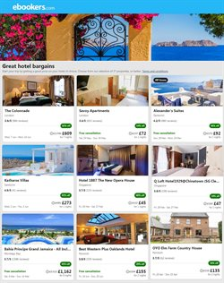 Travel offers in the Ebookers catalogue in London ( 6 days left )