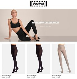 Clothes, Shoes & Accessories offers in the Wolford catalogue ( Expires tomorrow)