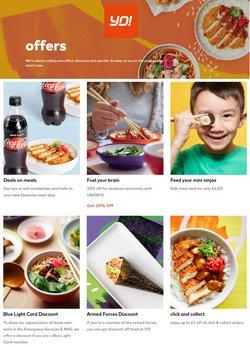 Yo! Sushi catalogue ( 14 days left )