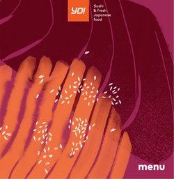 Yo! Sushi offers in the Yo! Sushi catalogue ( More than a month)