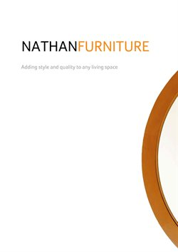 Nathan Furniture offers in the Edinburgh catalogue