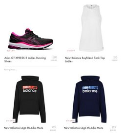 New Balance offers in the Sweatshop catalogue ( 14 days left)