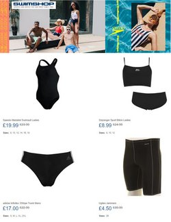 Swim Shop catalogue ( Published today  )