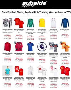 Offers of Football in Subside Sports