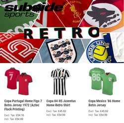 Sport offers in the Subside Sports catalogue in Newport ( Published today  )
