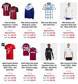 Nike offers in the Subside Sports catalogue ( 5 days left)