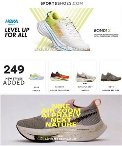 Sports Shoes offers in the Sports Shoes catalogue ( 4 days left)