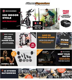 Fitness Superstore offers in the Fitness Superstore catalogue ( 7 days left)