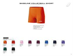 Volleyball offers in the ASICS catalogue in London