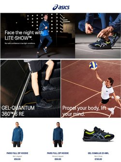 ASICS offers in the ASICS catalogue ( 7 days left)