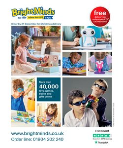 Toys & Babies offers in the Bright Minds catalogue in Solihull ( More than a month )