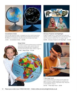 Offers of Globe in Bright Minds