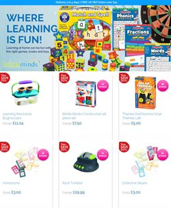 Toys & Babies offers in the Bright Minds catalogue in Swansea ( 1 day ago )