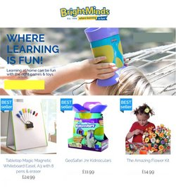 Toys & Babies offers in the Bright Minds catalogue ( Published today)
