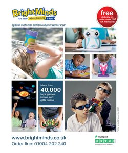 Toys & Babies offers in the Bright Minds catalogue ( More than a month)