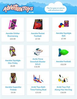 Toys & Babies offers in the Adventure Toys catalogue in Blackburn ( More than a month )