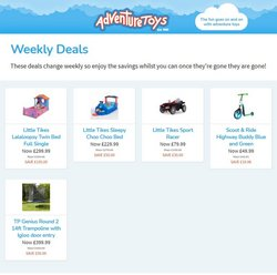 Adventure Toys catalogue ( Published today  )