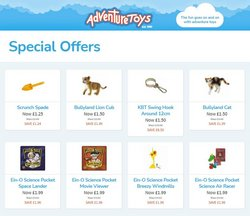 Adventure Toys offers in the Adventure Toys catalogue ( Expires today)
