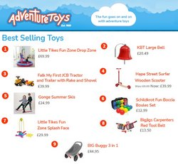 Toys & Babies offers in the Adventure Toys catalogue ( More than a month)