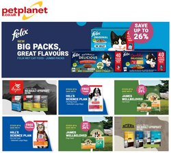 Pet Planet offers in the Pet Planet catalogue ( 3 days left)