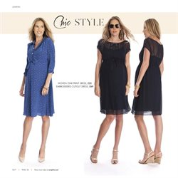 Print dress offers in the Seraphine catalogue in London