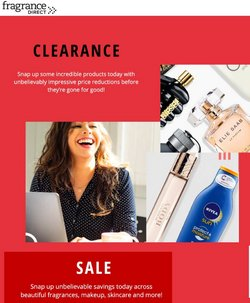 Pharmacy, Perfume & Beauty offers in the Fragrance Direct catalogue ( 12 days left)