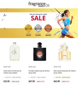 Pharmacy, Perfume & Beauty offers in the Fragrance Direct catalogue ( Published today)