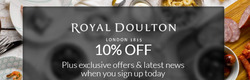 Royal Doulton coupon in Birmingham ( 5 days left )