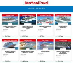 Barrhead Travel offers in the Barrhead Travel catalogue ( 2 days left)