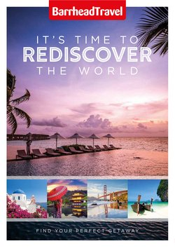 Barrhead Travel offers in the Barrhead Travel catalogue ( More than a month)