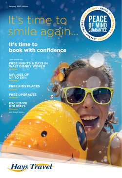 Travel offers in the Hays Travel catalogue ( More than a month)
