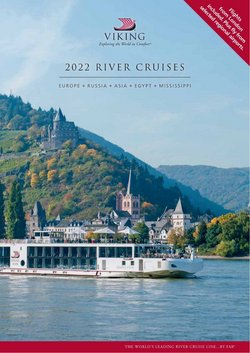 Offers of Flights in Viking River Cruises