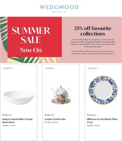 Royal Albert offers in the Royal Albert catalogue ( 8 days left)