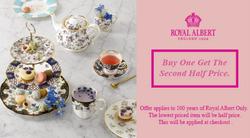 Royal Albert coupon ( Expires today )