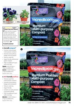Offers of Compost in Thompson & Morgan