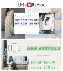 Sales offers in the Light in the Box catalogue ( Expires today)